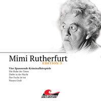 Mimi Rutherfurt, Edition 5: Vier Spannende Kriminalhörspiele - Maureen Butcher