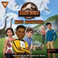 Jurassic World - Neue Abenteuer 3: Eddies Geburtstag / Willkommen in Jurassic World - Marcus Giersch