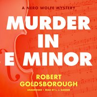 Murder in E Minor: A Nero Wolfe Mystery - Robert Goldsborough