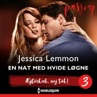 En nat med hvide løgne - Jessica Lemmon