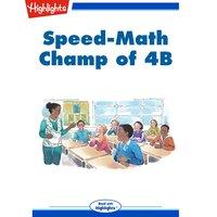 Speed Math Champ of 4B - Sara Matson