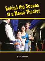 Behind the Scenes at a Movie Theater - Fay Robinson