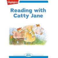 Reading with Catty Jane - Valeri Gorbachev