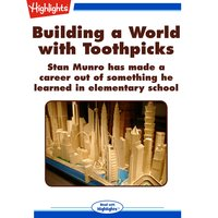 Building a World with Toothpicks - Linda Haas Manley