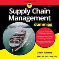 Supply Chain Management For Dummies - Daniel Stanton