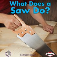 What Does a Saw Do? - Robin Nelson