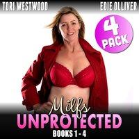 Milfs Unprotected Books 1 – 4 : 4-Pack (Milf Erotica Breeding Erotica Audio Collection) - Tori Westwood