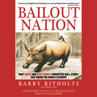 Bailout Nation : How Greed and Easy Money Corrupted Wall Street and Shook the World Economy - Barry Ritholtz, Bill Fleckenstein, Aaron Task