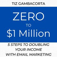 Zero To $1 Million - 5 Steps To Doubling Your Income With Email Marketing - Tiz Gambacorta