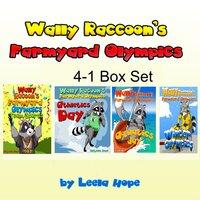 Wally Raccoon's 4-Book Collection - Leela Hope