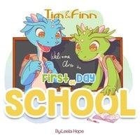 Tim & Finn First Day of School - Leela Hope