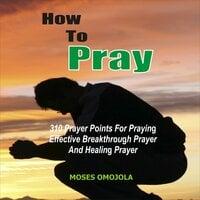How To Pray: 310 Prayer Points For Praying Effective Breakthrough Prayer And Healing Prayer - Moses Omojola