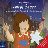 Lauras Stern - Tonspur der TV-Serie, Teil 11: Abenteuerliche Gutenacht-Geschichten - Klaus Baumgart, Cornelia Neudert