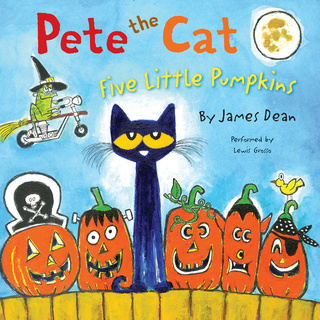 Pete the Cat: Five Little Pumpkins - James Dean