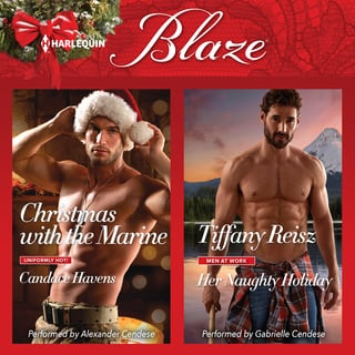 Christmas with the Marine & Her Naughty Holiday - Tiffany Reisz, Candace Havens