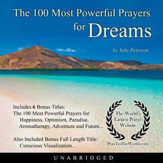 The 100 Most Powerful Prayers for Dreams