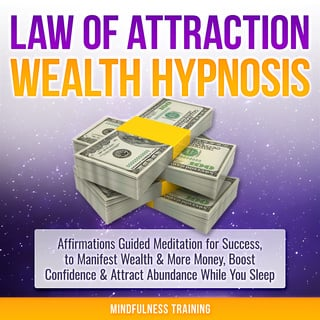 Law of Attraction Wealth Hypnosis: Affirmations Guided Meditation for Success, to Manifest Wealth & More Money, Boost Confidence & Attract Abundance While You Sleep (Law of Attraction, New Age, Financial Success Sleep Series) - Mindfulness Training