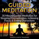 Guided Meditation: 30 Minute Guided Meditation for Stopping Procrastination, Increasing Focus, & Ending Distractions (Deep Sleep Self Hypnosis, Law of Attraction Affirmations, Anxiety & Stress Relief, Guided Imagery & Relaxation Techniques) - Mindfulness Training