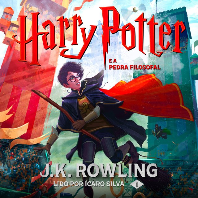 Harry Potter e a Pedra Filosofal                     J.K. Rowling