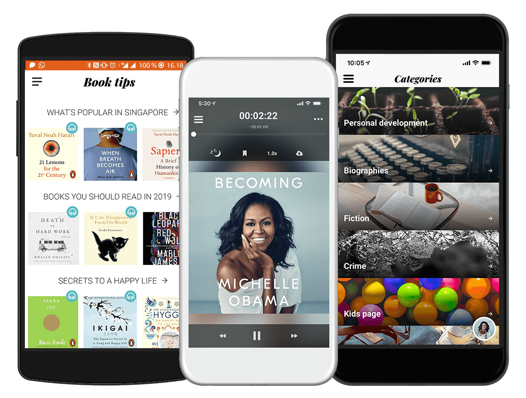 Storytel - Audiobooks & E-books in your mobile