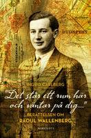 Det står ett rum här och väntar på dig ... - berättelsen om Raoul Wallenberg - Ingrid Carlberg