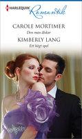 Den man älskar/Ett högt spel - Kimberly Lang,Carole Mortimer