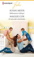 Millionærens tvillinger /En nat under ørkenhimlen - Maggie Cox, Susan Meier