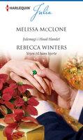 Julemagi i Hood Hamlet / Vejen til hans hjerte - Rebecca Winters, Melissa McClone
