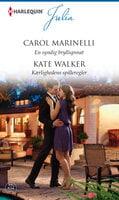 En syndig bryllupsnat / Kærlighedens spilleregler - Carol Marinelli,Kate Walker
