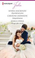 Ægteskab på prøve / Askepotdrømme / På jagt efter sin far - Caroline Anderson,Jessica Steele,Myrna Mackenzie