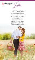Italiensk kærlighed/Den perfekte mor/På date med fjenden - Lucy Gordon, Melissa James, Shirley Jump