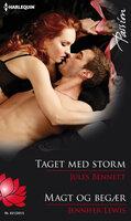 Taget med storm / Magt og begær - Jennifer Lewis,Jules Bennett