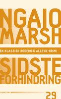 Sidste forhindring - Ngaio Marsh