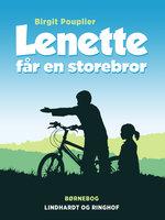 Lenette får en storebror - Birgit Pouplier