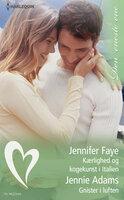 Kærlighed og kogekunst i Italien / Gnister i luften - Jennie Adams,Jennifer Faye