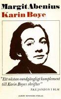 Karin Boye - Margit Abenius