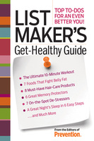 List Maker's Get-Healthy Guide - The Prevention