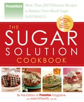 Prevention The Sugar Solution Cookbook - Ann Fittante, The Prevention