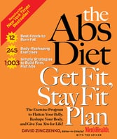 The Abs Diet Get Fit, Stay Fit Plan - David Zinczenko, Ted Spiker