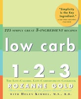 Low Carb 1-2-3 - Helen Kimmel, Rozanne Gold