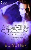 A Brewing Storm - E.J. Sutter