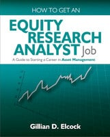 How To Get An Equity Research Analyst Job - Gillian Elcock