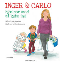 Inger og Carlo hjælper med at købe ind - Helen Lyng Hansen