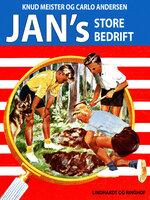 Jans store bedrift - Knud Meister,Carlo Andersen