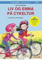 Liv og Emma på cykeltur - Line Kyed Knudsen