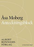 Anteckningsblock - Åsa Moberg