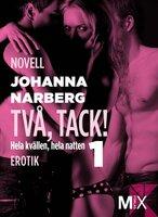Hela kvällen, hela natten : Två, tack! - Johanna Narberg