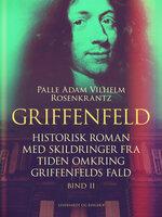 Griffenfeld: Historisk roman med skildringer fra tiden omkring Griffenfelds fald (Bind II) - Palle Adam Vilhelm Rosenkrantz
