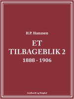 Et tilbageblik 2 - H.P. Hanssen