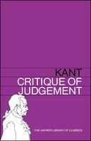 Critique of Judgement - Immanuel Kant